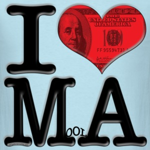 I Love MoolA (for light-colored apparel) T-Shirts - Men's T-Shirt