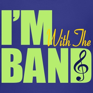 I'm With The Band - Kids' Premium T-Shirt