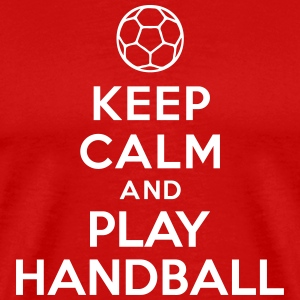 Keep calm and play Handball T-Shirts - Men's Premium T-Shirt