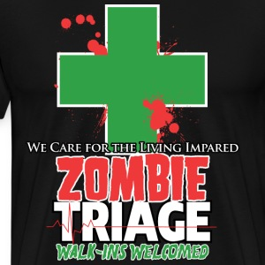 Zombie Triage T-Shirts - Men's Premium T-Shirt