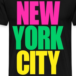 New York City colors - Men's Premium T-Shirt