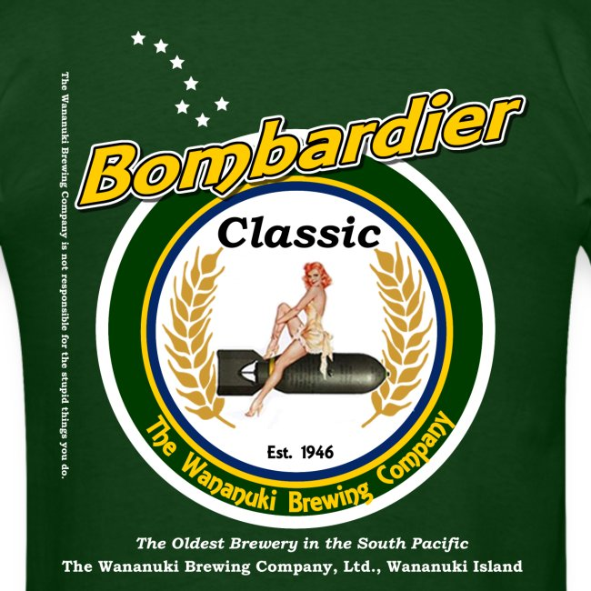 Bombardier Classic Beer