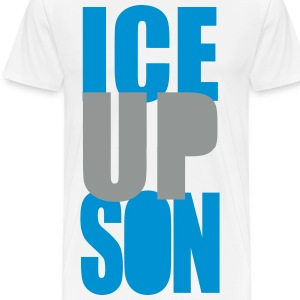 ICE UP SON -BOTTOM T-Shirts - Men's Premium T-Shirt