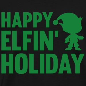 Happy Elfin' Holiday - Men's Premium T-Shirt