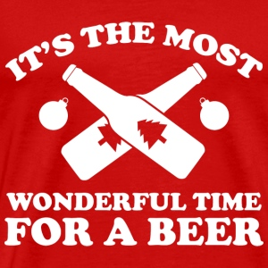 It's The Most Wonderful Time For A Beer - Men's Premium T-Shirt