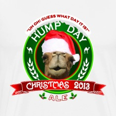 Hump Day Christmas Ale Label T-shirt