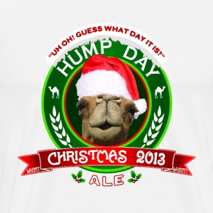 Hump Day Christmas Ale Label T-shirt - Men's Premium T-Shirt
