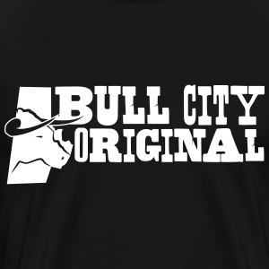 Bull City Original - 3XL & 4XL - Men's Premium T-Shirt