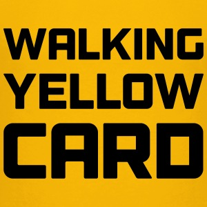 Walking Yellow Card Youth Tee - Kids' Premium T-Shirt