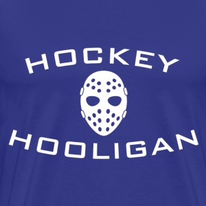Hockey Hooligan Adult T-Shirt - Men's Premium T-Shirt