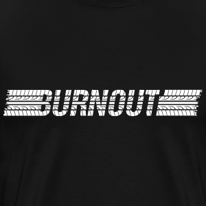 Tires Burnout Shirt - Men's Premium T-Shirt
