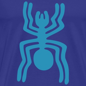 Nazca Spider, lightblue - Men's Premium T-Shirt