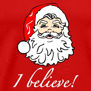 I Believe in Santa - Men's Premium T-Shirt