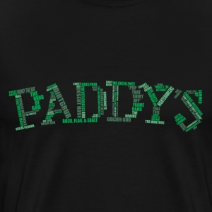 Paddy's Word Cloud - Men's Premium T-Shirt
