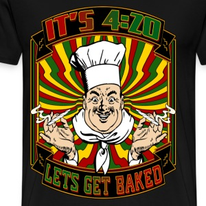 It's 420 - Let's Get Baked! - Men's Premium T-Shirt