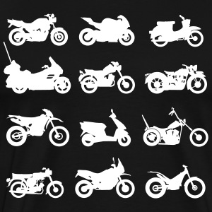 Motorcycles types Shirt - Men's Premium T-Shirt
