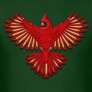 Beadwork Cardinal - Men's T-Shirt