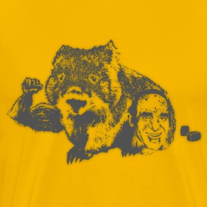 Wombat - Grey T-Shirts - Men's Premium T-Shirt