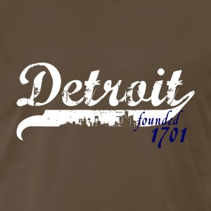 Detroit 1701 T-Shirts - Men's Premium T-Shirt