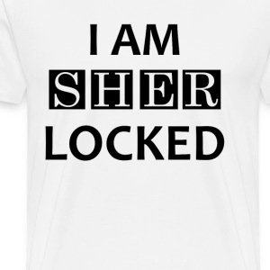 I AM SHERLOCKED T-Shirts - Men's Premium T-Shirt