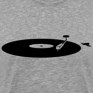 running record player Shirt - Men's Premium T-Shirt