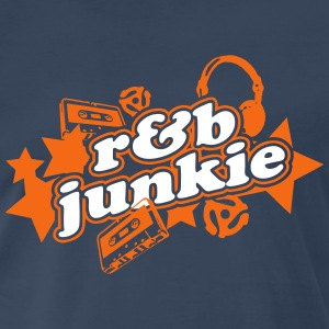 R&B Junkie - Men's Premium T-Shirt
