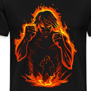Fire titan - Men's Premium T-Shirt