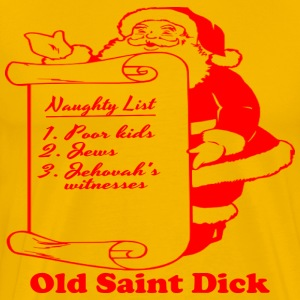 old_saint_dick_red T-Shirts - Men's Premium T-Shirt