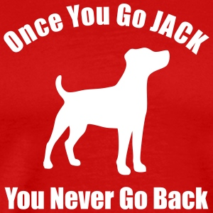 Once you go Jack Men's shirt - Men's Premium T-Shirt