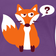 Design ~ What Does The Fox Say Women's Plus Size Tee
