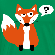 Design ~ What Does The Fox Say Big Tee