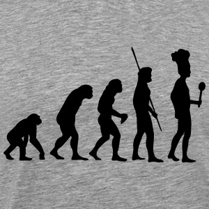 Evolution cook Shirt - Men's Premium T-Shirt