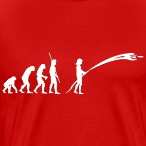 Evolution fireman Shirt - Men's Premium T-Shirt