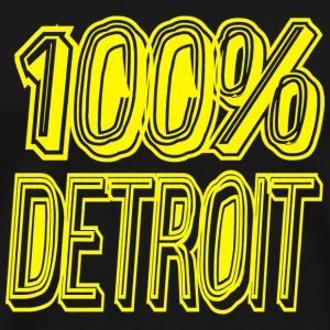 100 Detroit T-Shirts - Men's Premium T-Shirt