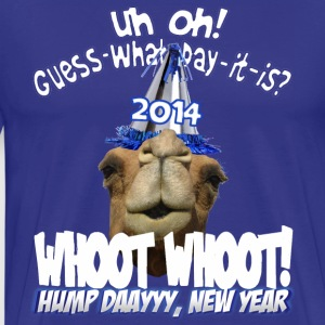 Hump Day Camel New Years Eve 2014 Party T-shirt - Men's Premium T-Shirt