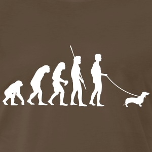 Dachshund Evolution Shirt - Men's Premium T-Shirt