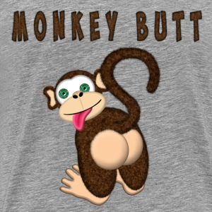 Monkey Butt T-Shirts - Men's Premium T-Shirt