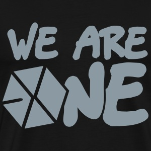 EXO - We Are One (Silver) Shirt - Men's Premium T-Shirt