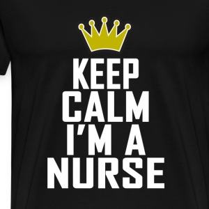 keep_calm_im_a_nurse_tee_shirts - Men's Premium T-Shirt