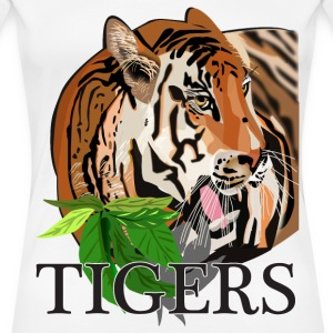 Tigers - Women's Premium T-Shirt