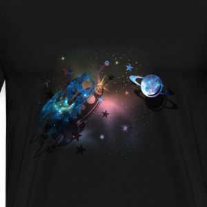 Deep Space-Saturn - Men's Premium T-Shirt