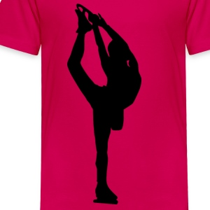 Figure Skating - Toddler Premium T-Shirt