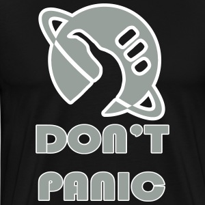 dont_panic_vectorized T-Shirts - Men's Premium T-Shirt