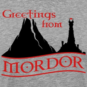 greetings_from_mordor T-Shirts - Men's Premium T-Shirt