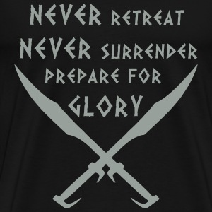 Prepare for Glory-Spartan Warrior - Men's Premium T-Shirt