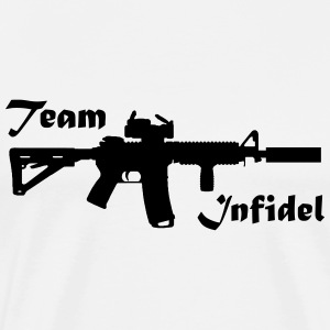 Team Infidel T Shirt - Men's Premium T-Shirt