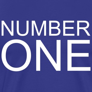 Number One T-Shirts - Men's Premium T-Shirt