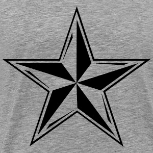 Men's Tattoo Star Shirt - Men's Premium T-Shirt