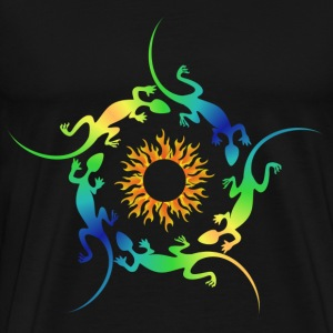 fire lizards T-Shirts - Men's Premium T-Shirt