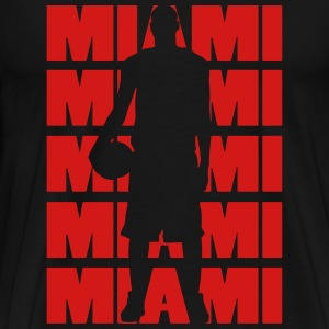 Miami Basketball T-Shirts - Men's Premium T-Shirt